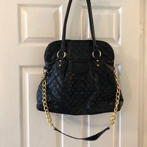 Handbags - Black purse with gold chain